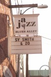 Blues Alley Marquee • Photo by Lauren Persons (June 2012)