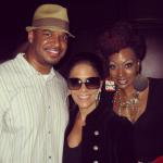 Me, Sheila E. and Sy Smith in D.C. (08.30.12)