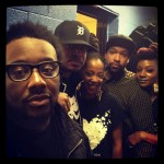 Phonte, Me, Deborah, Kush and Sy in Detroit • Photo by Drake Phifer (Sept. 2012)