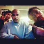 Sy Smith, Me and Phonte recording in N.C. (11.07.12)