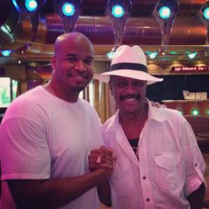 Me and Larry Graham