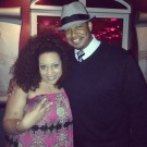 Chantae Cann and I before performing on the Capital Jazz Cruise (Nov. 2013)
