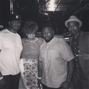 Me, Carmen, Phonte & Anthony David