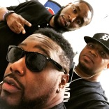 With Phonte and 9th Wonder in Atlanta