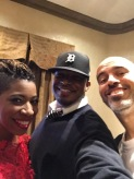 With Carmen and Bobbito Garcia in NYC