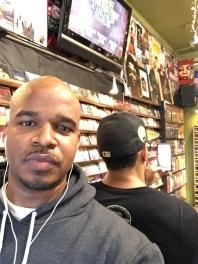 With Saxappeal in Moods Music in ATL