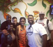 Black Van with Chef Stacey Dougan at her restaurant in Vegas, Simply Pure • 10.15.16